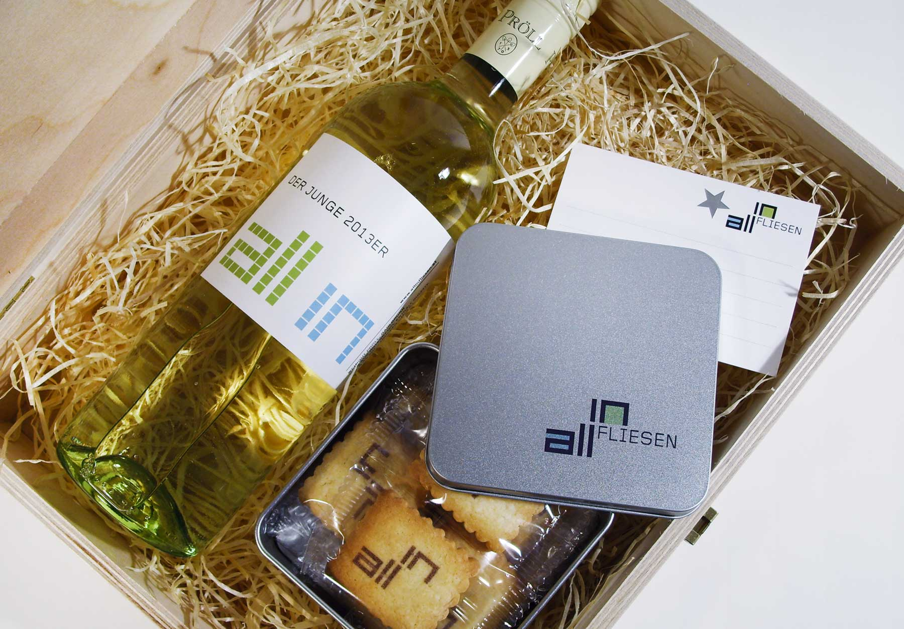 all in fliesen Geschenkbox